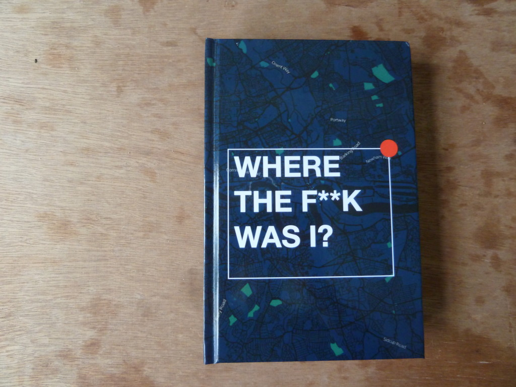 James Bridle, Where The F**k Was I?, 2011. Courtesy of the author.