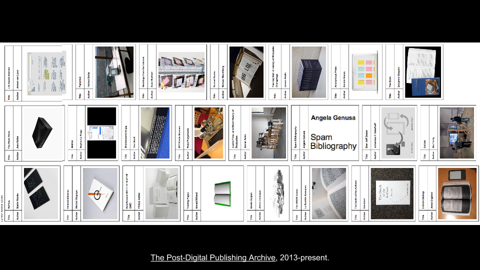 The Post-Digital Publishing Archive-  An Inventory of Speculative Strategies — Coventry University — June 11th 2014 (10)