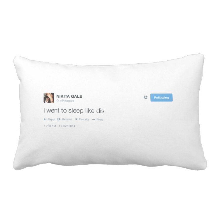 Nikita Gale Grade A Cotton Throw Pillow