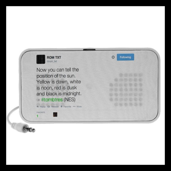ROM_TXT Doodle Audio Speaker