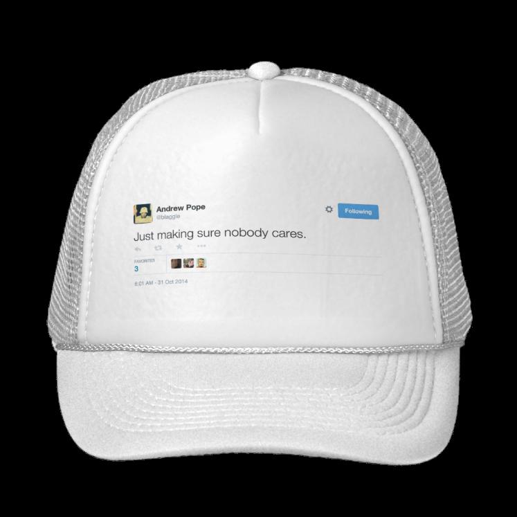 Andrew Pope Trucker Hat