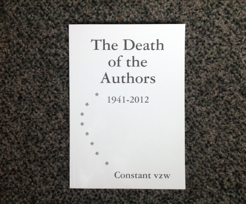 The Death of the Authors