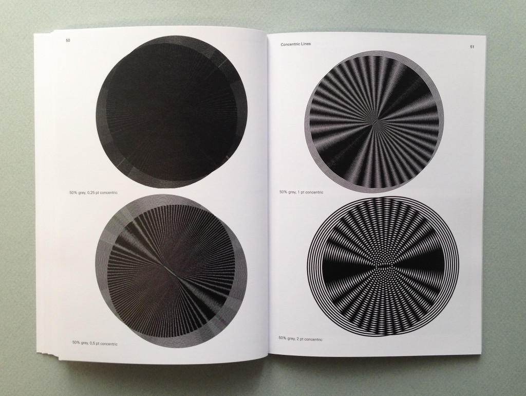 Fig. 27: Spread from Dear Lulu, an experimental book made in 2008 that reflects upon the limitations of POD systems. Source: http://p-dpa.net/work/dear-lulu/