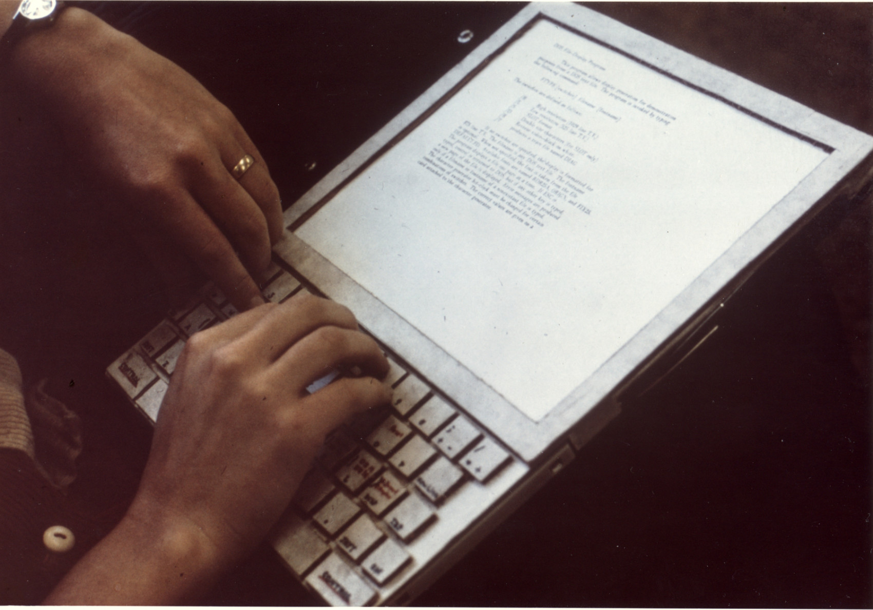 Fig. 14: Mockup of the Dynabook conceived by Xerox PARC's Alan Kay, 1970s. Source: https://www.parc.com/newsroom/media-library.html