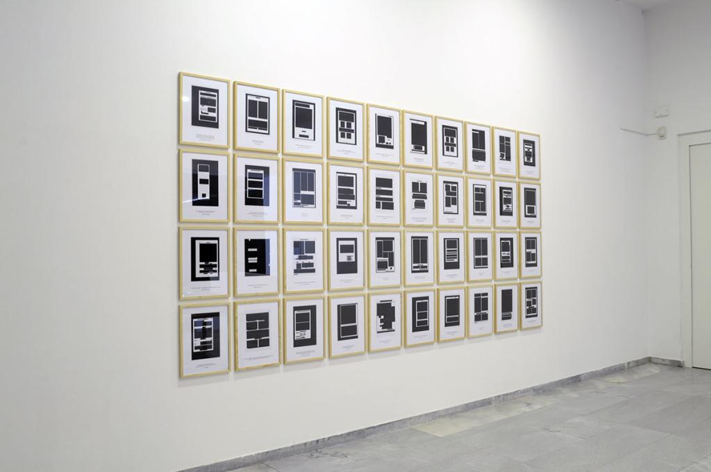 "Exhibition view, ""The Act & the Tracer"", Württembergischer Kunstverein Stuttgart, Germany"