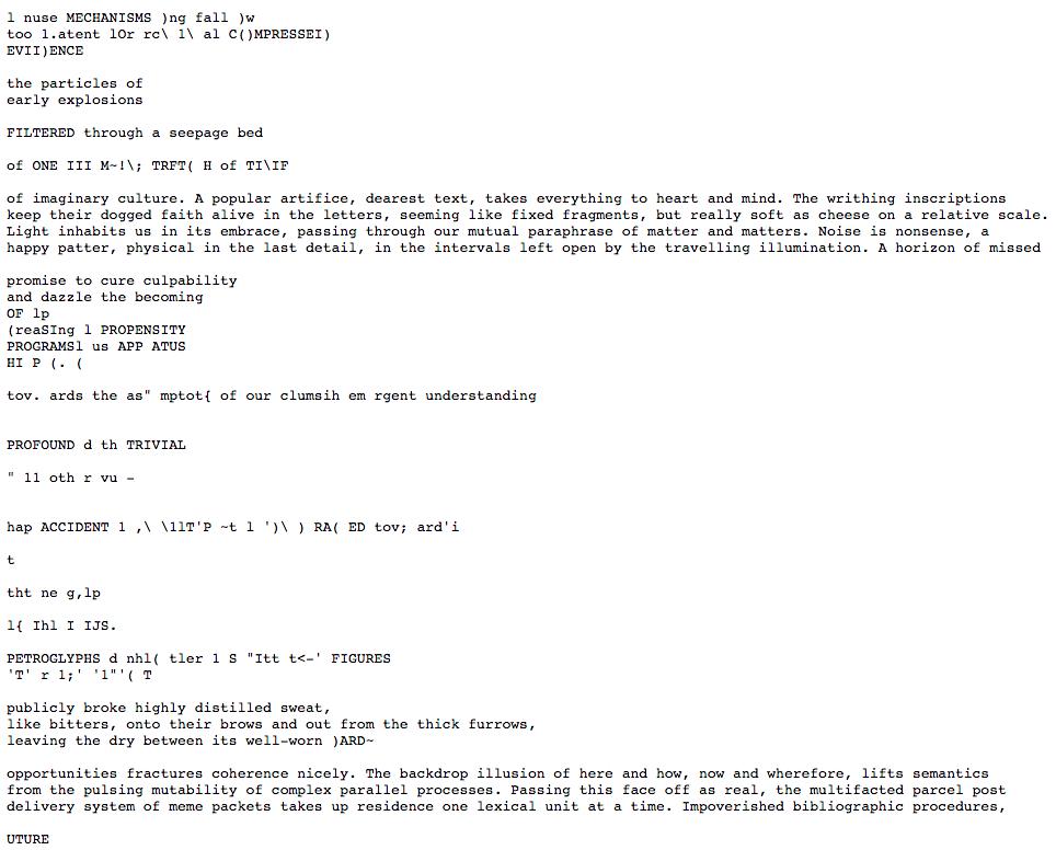 Quantum (2000), TXT version.