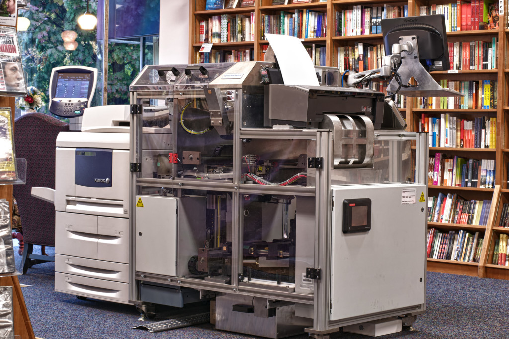 Espresso Book Machine. Photo by Politics and Prose Bookstore