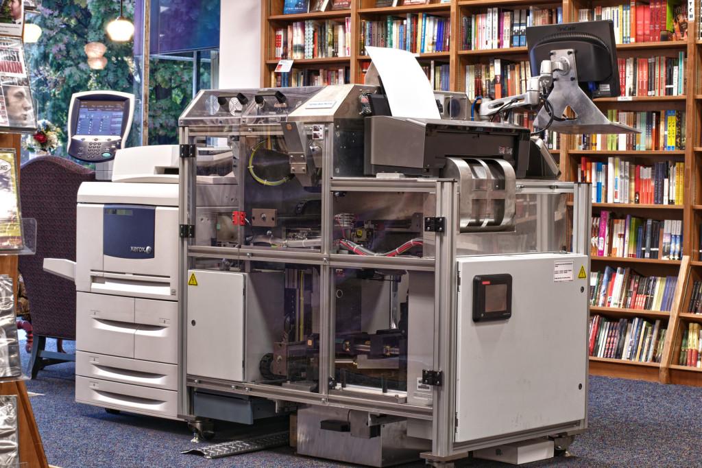 Espresso Book Machine. Photo by Politics and Prose Bookstore