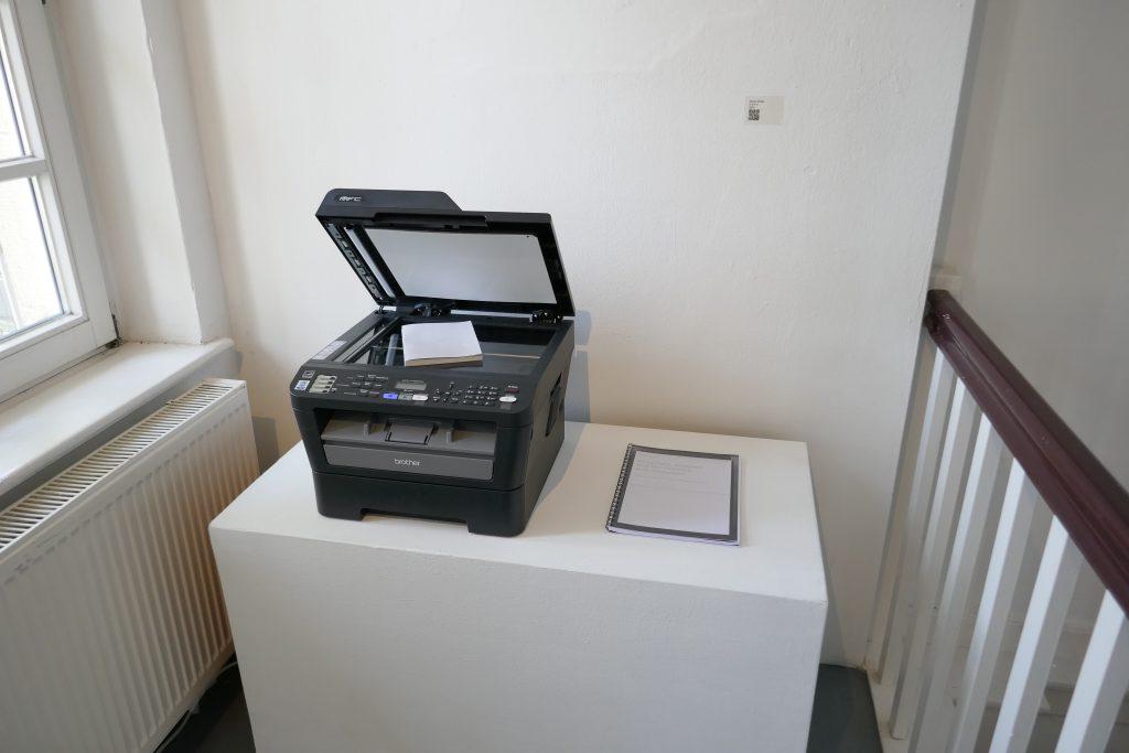 p0es1s – Postdigital show at Kunsttempel (Kassel)